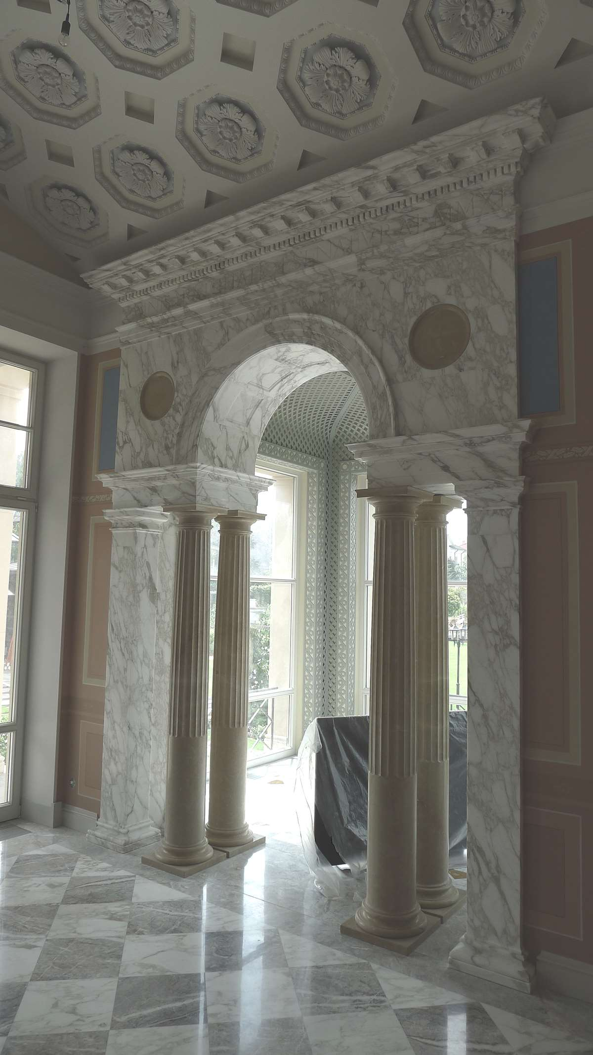 COMPLEX PROJECTS OF NATURAL STONE